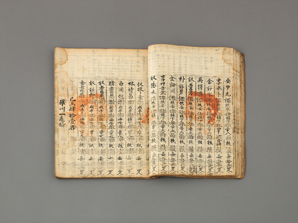 Military Register of Jeolla-do Province